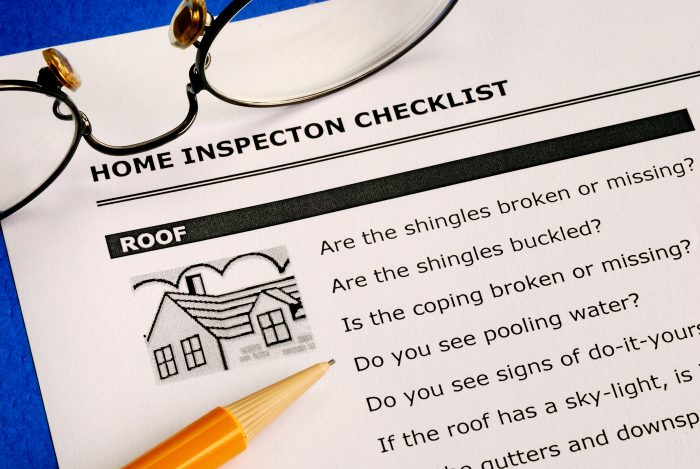 a home inspection checklist