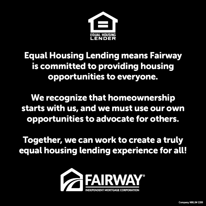 Equal Housing Lending text and logo
